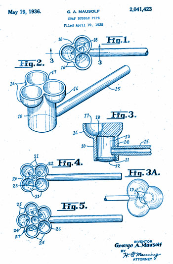 bubble pipe patent
