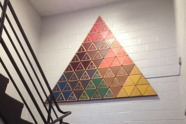 math triangle thing